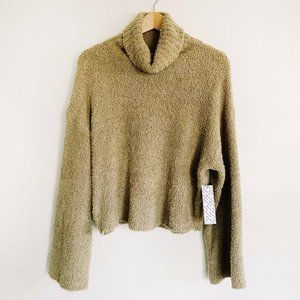 Urban Outfitters Turtleneck Fuzzy Sweater